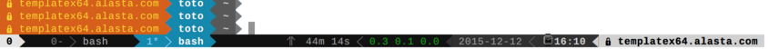 Powerline Tmux